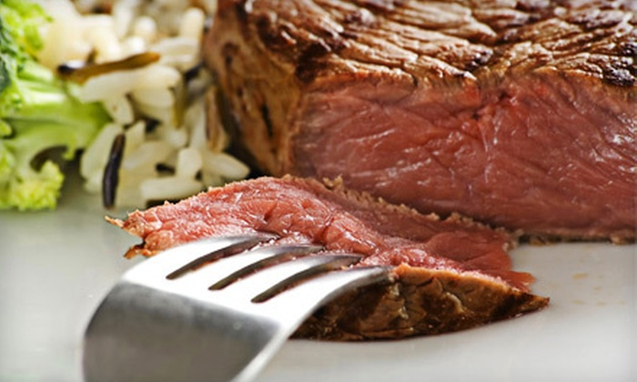 Iowa Steak Company - Oklahoma City Northwest: Premium or Holiday Meat Package of Steaks and Filets from Iowa Steak Company (Half Off)