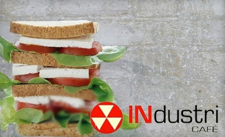 $30 Groupon to INdustry Cafe - INdustry Cafe in Milwaukee
