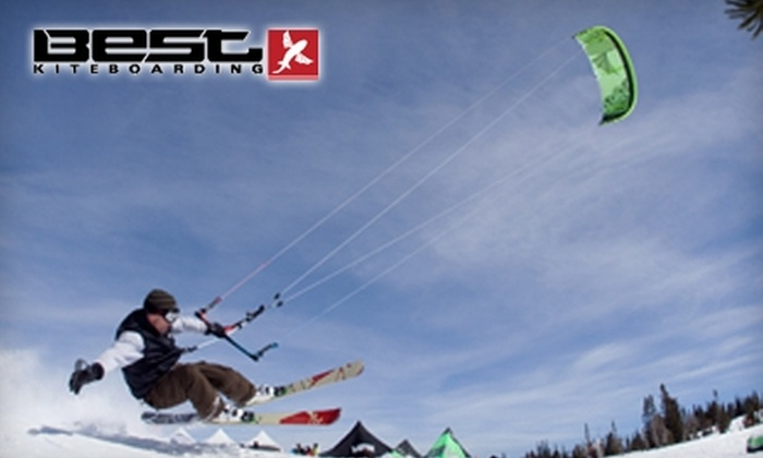 Best Kiteboarding SuperFly Open - Uintah and Ouray: $49 for a Two-Hour Introduction to Snowkiting at Best Kiteboarding SuperFly Open ($180 Value)