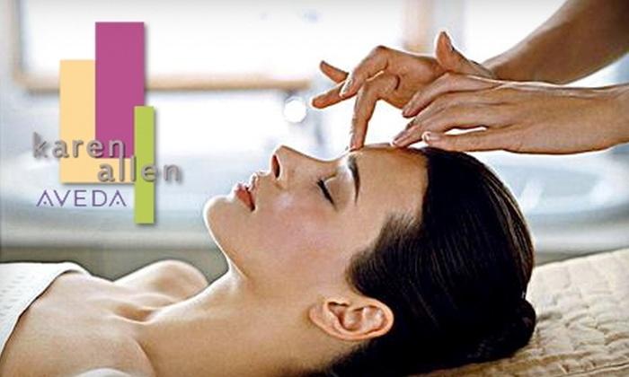 Karen Allen Salon & Spa - Multiple Locations: $69 for a Spa Package at Karen Allen Salon & Spa ($150 Value)