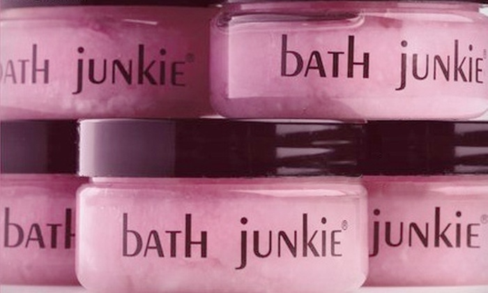 Bath Junkie - Multiple Locations: $25 for $50 Worth of Customizable Beauty Products from Bath Junkie. Two Locations Available.
