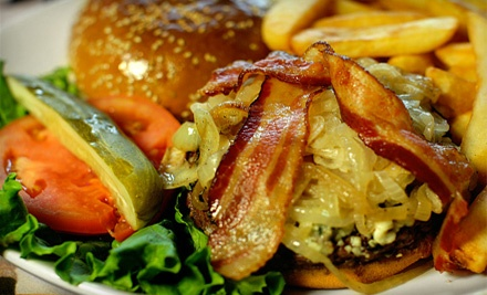 Pub-Fare Dinner for 2 (up to a $44.80 total value) - Blue 60 in Mundelein