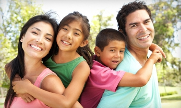 My Family Dental Centers - Multiple Locations: $19 for Exam, X-ray, Teeth Cleaning, and Take-Home Whitening Kit at My Family Dental Centers ($610 Value)