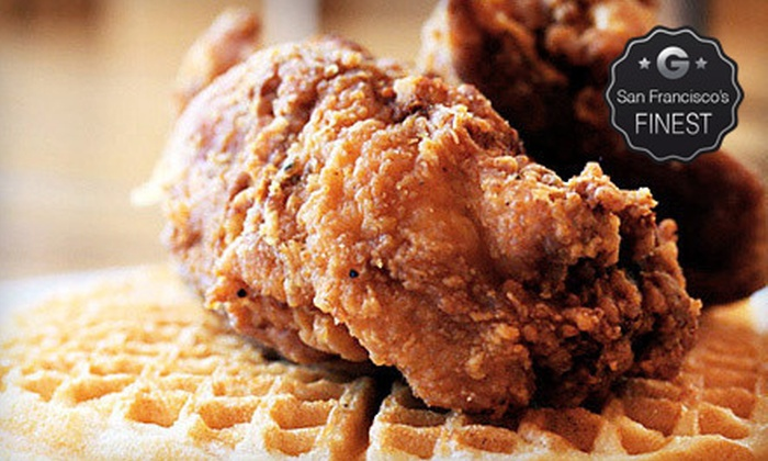Gussie's Chicken and Waffles - Western Addition: $10 for $20 Worth of Southern Soul Food at Gussie's Chicken and Waffles
