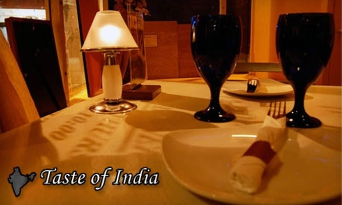 Taste of India - Fox Point: $10 for $20 Worth of Indian Cuisine at Taste of India