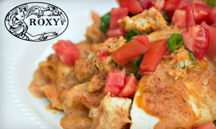 Roxy Restaurant & Ice Cream - Encinitas: $7 for $15 Worth of Café Fare and Drinks at Roxy Restaurant & Ice Cream in Encinitas