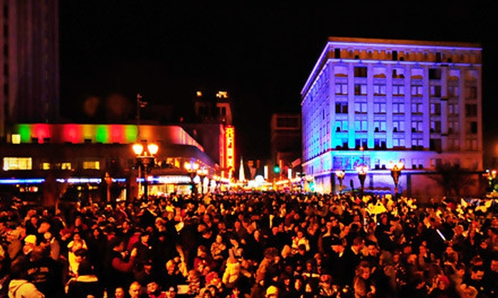 First Night St. Louis Festival - Midtown: First Night St. Louis Festival Admission on December 31 for Two Children, Two Adults, or Family (Up to 53% Off)