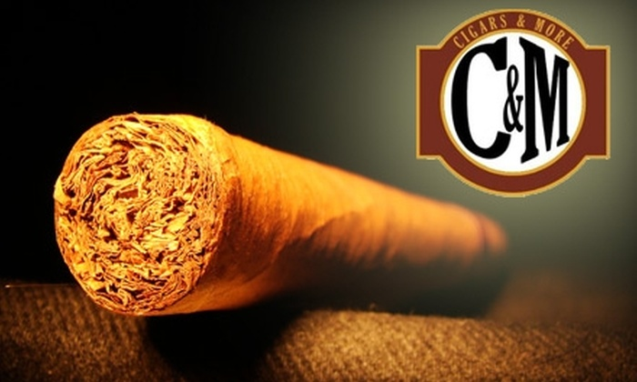 Cigars & More - Multiple Locations: $10 for $20 Worth of Cigars and Accessories at Cigars & More