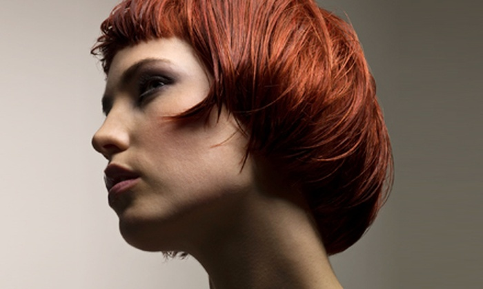 Details Hair Studio - Norwich: Haircut and Partial Highlights or Two OPI Axxium Gel Color Manicures at Details Hair Studio in Norwich (Up to 68% Off)