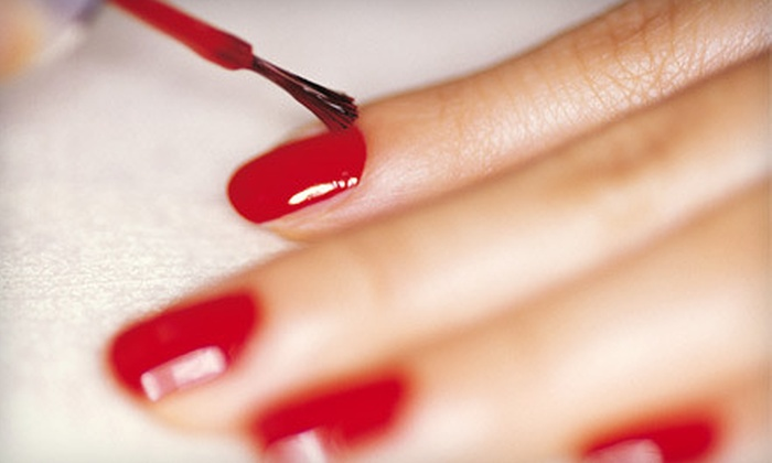 Sandals Salon - Old Naples: Classic Mani-Pedi or Gel Nails and Classic Pedicure at Sandals Salon (Up to Half Off)