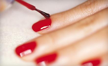 Classic Manicure and Classic Pedicure - Sandals Salon in Naples