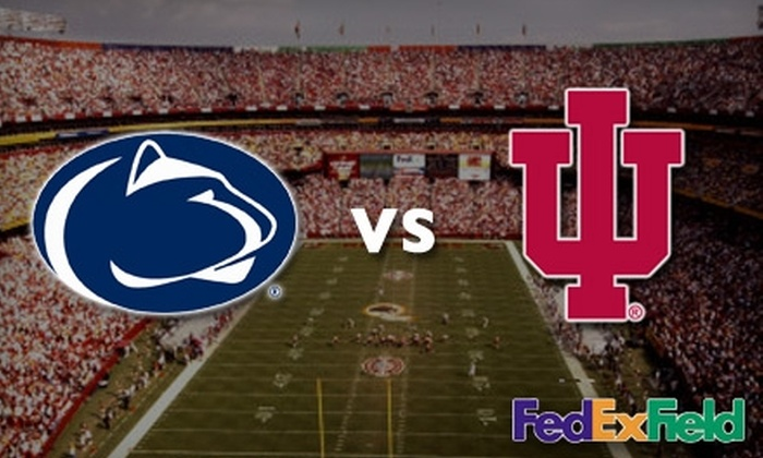 Washington Redskins - 13, Kent: $25 for One Ticket to the Penn State vs. Indiana Game at FedExField on November 20 ($57.85 Value)