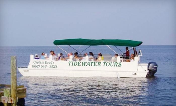Tidewater Tours - Cedar Key: $12 for The Island Tour from Tidewater Tours in Cedar Key (Up to $25 Value)