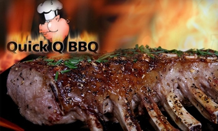 Quick Q BBQ - United Central: $7 for $15 Worth of Barbecue, Drinks, and More at Quick Q BBQ