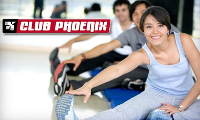 Club Phoenix - Burnside: One Month Unlimited Membership or a Fitness Consultation and One Personal-Training Session at Club Phoenix. Choose Between Two Options.