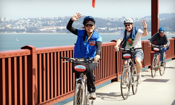 Blazing Saddles - Downtown: Bike Tour for Two or Bike Rental for Two from Blazing Saddles (Up to 56% Off)