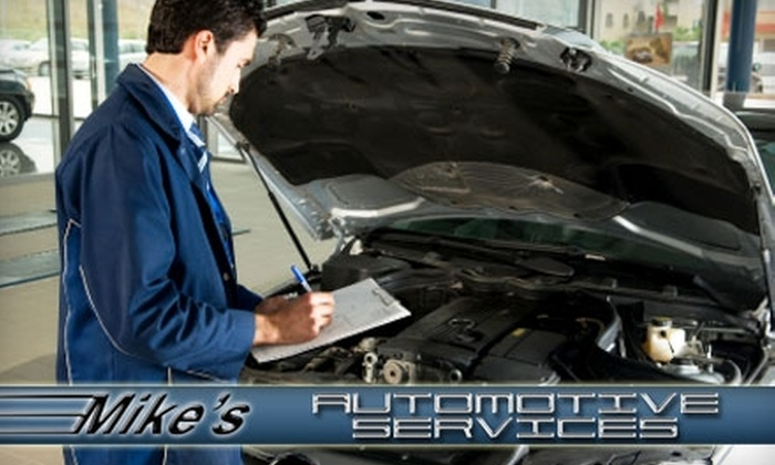 Mike's Automotive Services - Ward Two: $45 for a Synthetic Oil Change and 23-Point Inspection ($102.02 Value) or $10 for a Standard Oil Change and 23-Point Inspection ($40.71 Value) at Mike's Automotive Services in Somerville