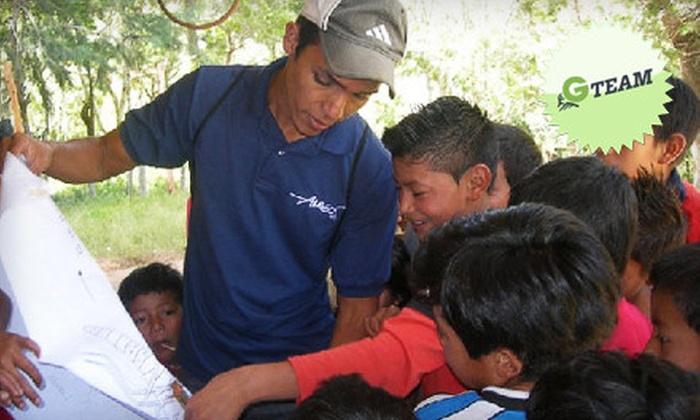 Amigos de las Américas - Lamar Terrace: If 40 People Donate $10, Then Amigos de las Américas Can Jumpstart Four Youth-Led Community Projects in Latin America