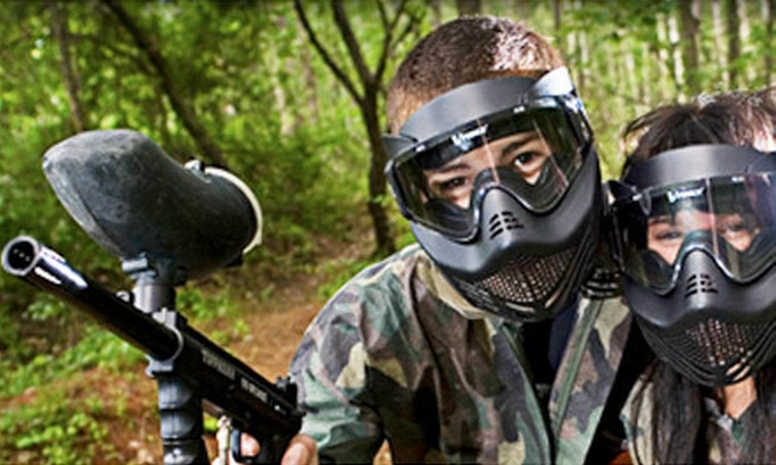 Cousins Paintball - Multiple Locations: $25 for an Open-Play Paintball Adventure with 500 Paintballs and Gear Rental at Cousins Paintball ($49.99 Value)