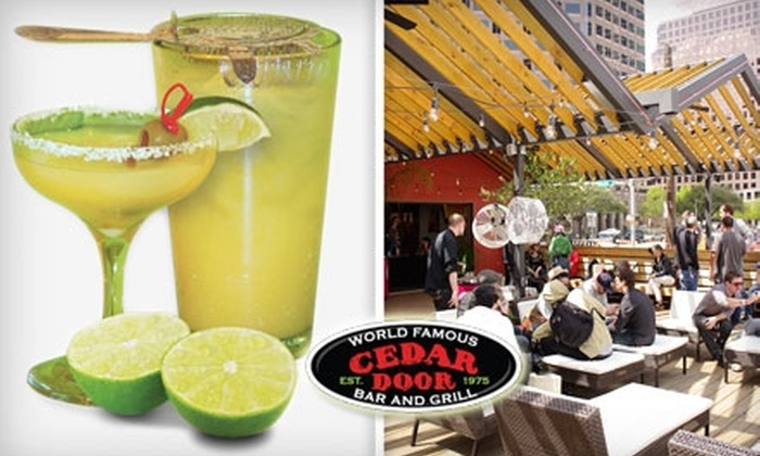 The Cedar Door - Downtown: $12 for $25 Worth of Southwestern Grill Fare and Martinis at The Cedar Door