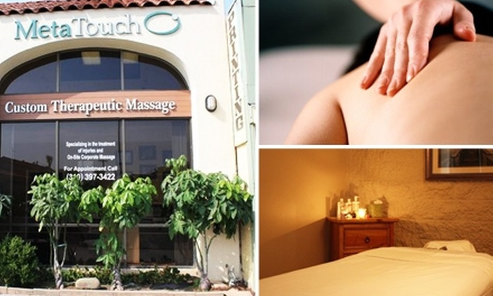 MetaTouch - Park West: $70 for Two One-Hour Massages at MetaTouch ($150 Value)
