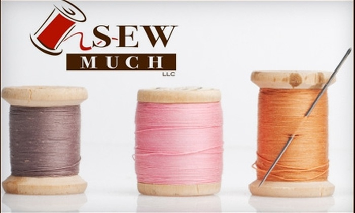 Sew Much - Delano: $10 for a Two-Hour Private or Group Beginning Sewing Class at Sew Much ($20 Value)