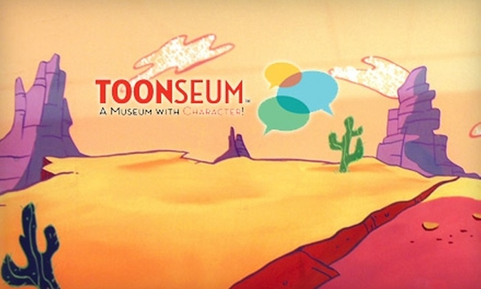 ToonSeum - Downtown: Half Off Admission or Annual Membership to ToonSeum. Choose from Three Options.