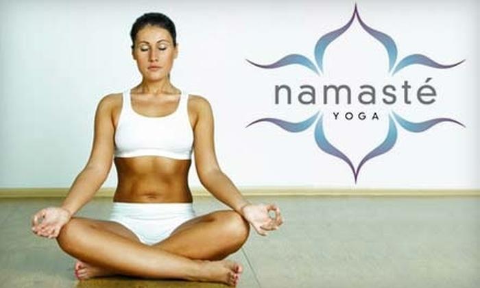 Namasté Yoga - Tallahassee: $25 for Five-Class Pass at Namasté Yoga ($50 Value)