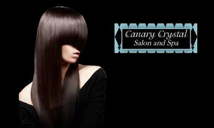 Canary Crystal Salon and Spa - New Albany: $150 for a Brazilian Blowout at Canary Crystal Salon and Spa in New Albany ($300 Value)