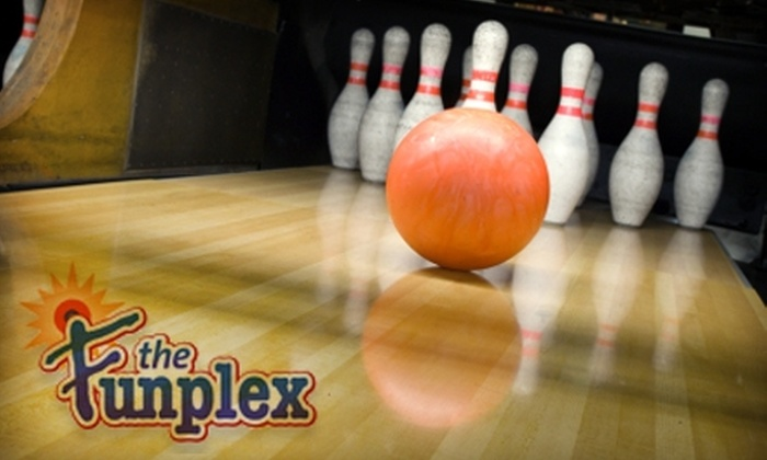 The Funplex - Mount Laurel: $19 for One Hour of Bowling Plus Shoe Rental for Four People at The Funplex