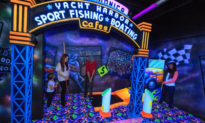 Monterey Mirror Maze and Highway1 Golf Games & Grub - New Monterey: Day Pass for Two or Four or Season Pass for One to Highway 1 and Monterey Mirror Maze (Up to 53% Off)