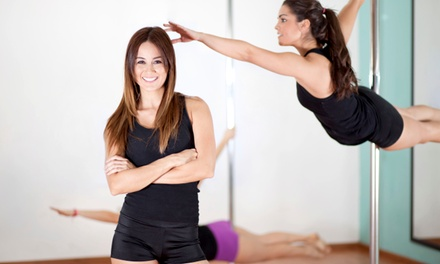 One or Two 90-Minute Pole-Dancing Classes at Women's Exotic Workout & Healing Center (Up to 56% Off)