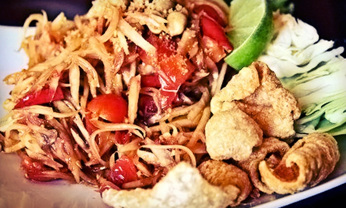 Bayou Twist - Park Crestmoor: Cajun and Laotian Fusion Food at Bayou Twist (Half Off). Two Options Available.