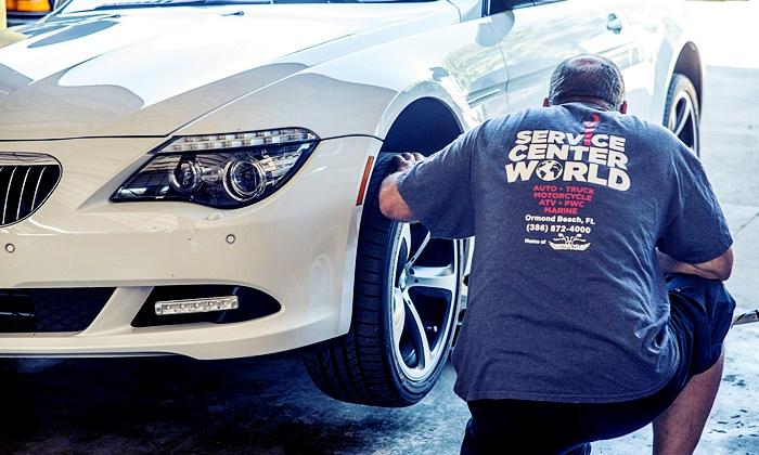 Service Center World - Ormond Beach: $79 for a Car-Maintenance Package at Service Center World ($170 Value)