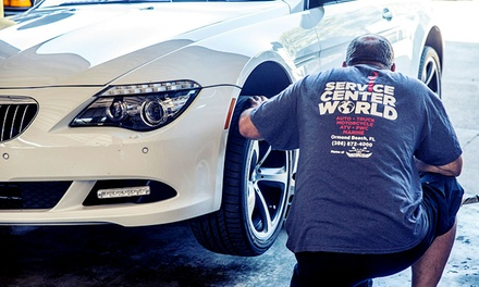 $79 for a Car-Maintenance Package at Service Center World ($170 Value)