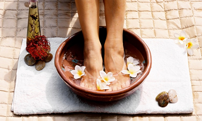 Flex-A-Foot - The Workshops Building: One or Three IonCleanse Foot Detoxification Sessions at Flex A Foot (50% Off)