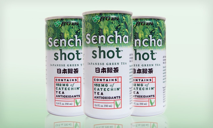 30-Pack of Sencha Green-Tea Shots: $39.99 for a 30-Pack of Sencha Japanese Green-Tea Shots ($44.65 List Price). Free Shipping.