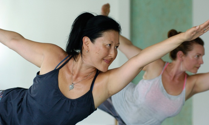 Breathe Hot Yoga - Multiple Locations: 10 Classes at Breathe Hot Yoga (72% Off)
