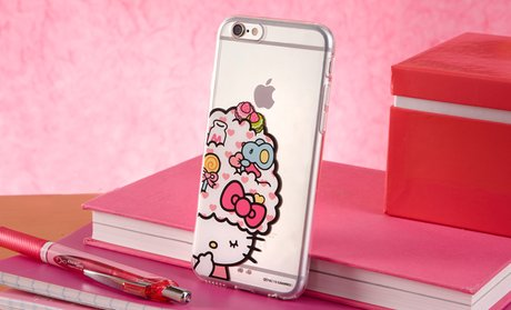 Sanrio Hello Kitty Cases for iPhone 5/5s/SE, 6, or 6 Plus