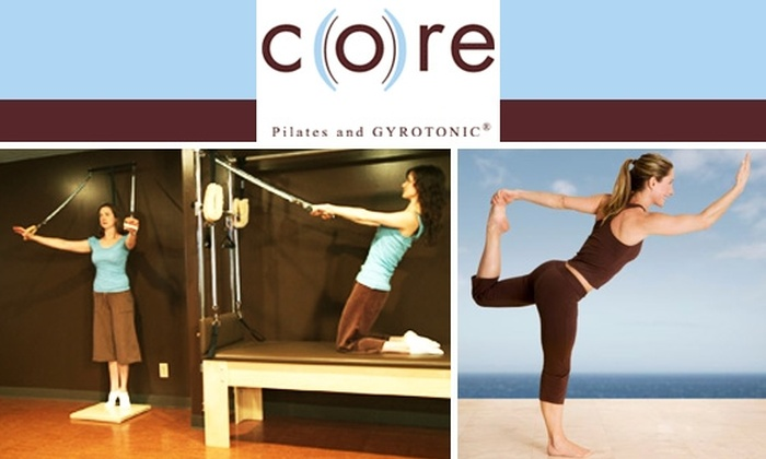 CORE Pilates and Gyrotonic - Atlanta: $37 for a Private, 50-minute Pilates or GYROTONIC Session at CORE ($75 Value)