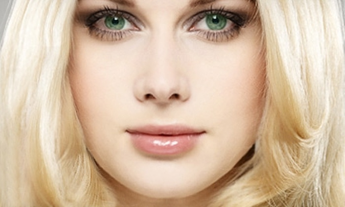 Stratton Salon and Day Spa - Lubbock: $6 for an Eyebrow or Lip Wax ($12 Value) or $15 for a Woman's Haircut and Style ($35 Value) at Stratton Salon and Day Spa