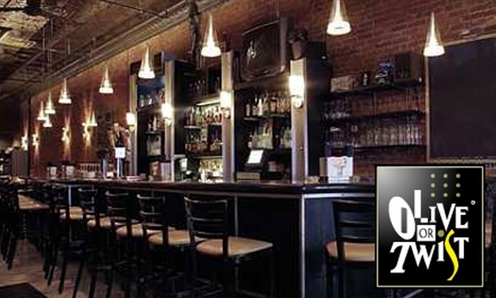 Olive or Twist - Downtown: $20 for $40 Worth of Contemporary Dinner and Drinks at Olive or Twist (or $10 for $20 Worth of Lunch and Drinks)