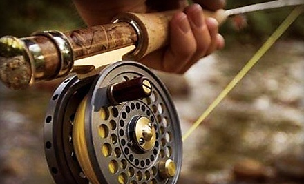 Half-Day Admission for a Child 12 and Younger for Catch-and-Release Fishing Plus Pole Rental (a $15 value) - Inland Ocean in Oak Hill