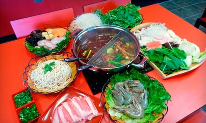 A&J Hot Point Hot Pot - Los Angeles: $18 for All-You-Can-Eat Hot Pot for Two at A&J Hot Point Hot Pot in Rosemead (Up to $35.98 Value)