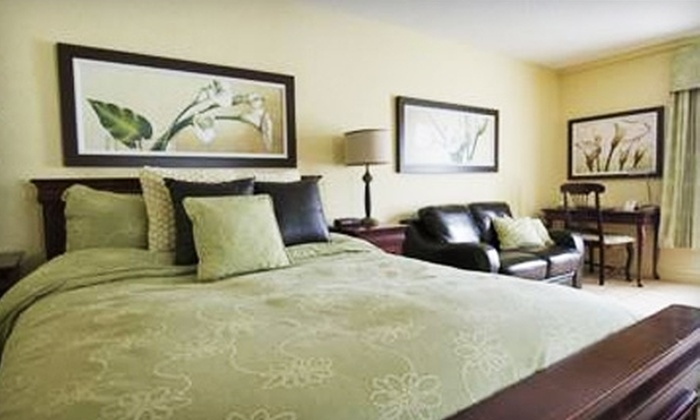 Château-Bromont - Fairfield County: One-Night Resort Stay at Château-Bromont. Choose Between Two Options.
