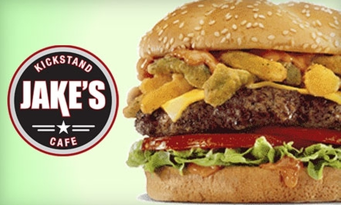 Jake's Kickstand Cafe - Northwest Columbia: $10 for $20 of Gourmet Burgers, Drinks, and More at Jake's Kickstand Cafe