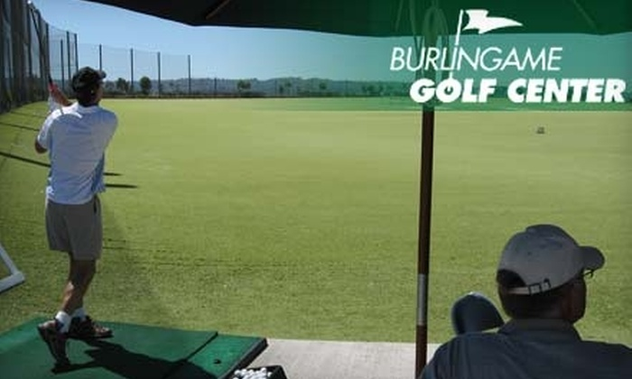Burlingame Golf Center - Burlingame: One-Hour Golf Lesson with PGA Instructor David Atchison at Burlingame Golf Center. Choose Between Two Options.