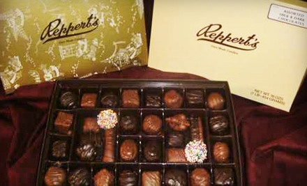 1-Pound Box of Regular Chocolates (a $12.50 value) - Reppert's Candy in Oley