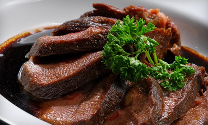 Tiburon Fine Dining - Sandy: $20 for $40 Worth of Upscale American Fare at Tiburon Fine Dining in Sandy