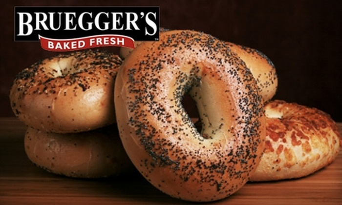 Bruegger's Bagels - Multiple Locations: $10 for $20 Gift Card for Bagels, Sandwiches, Coffee, and More at Bruegger's Bagels